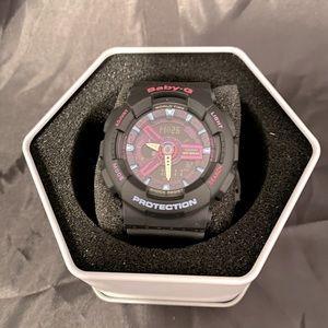 Purple/Multi Baby G-shock watch BNIB